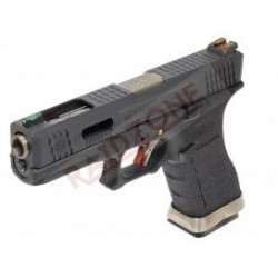 GBB TYPE G17 CUSTOM BLACK &...