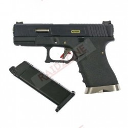 GBB TYPE G19 CUSTOM BLACK &...